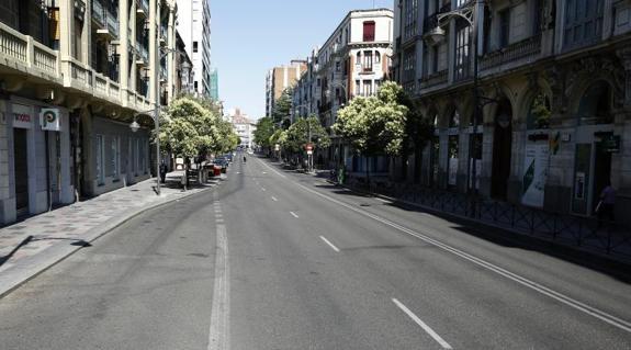 La calle vacia
