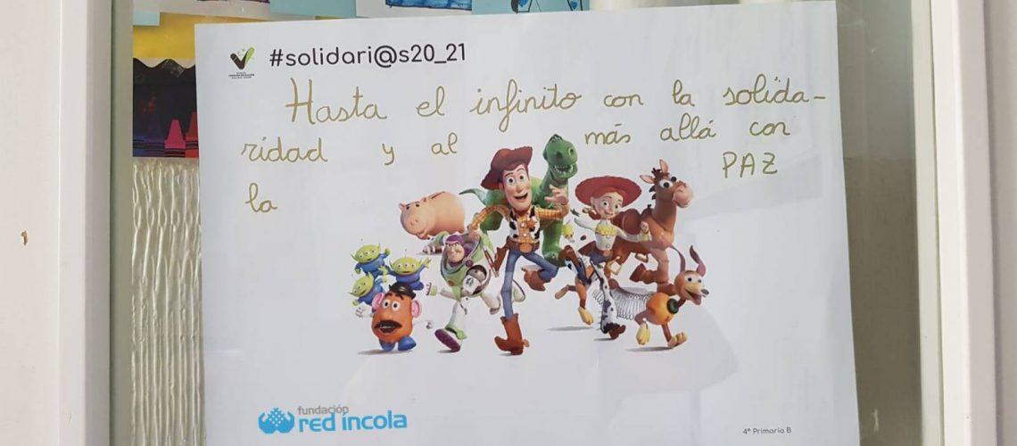 Mensaje solidario Vedrunas